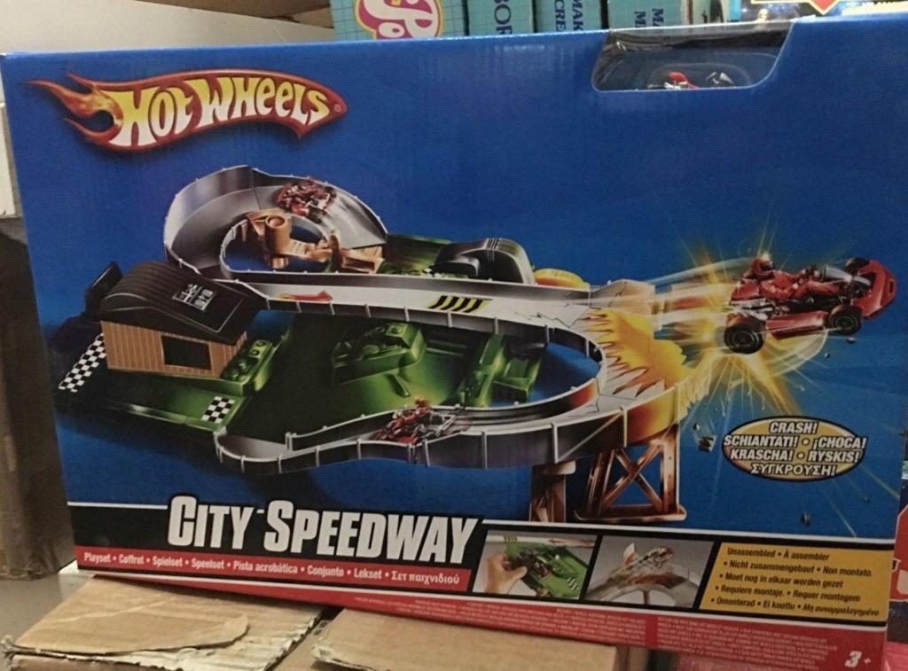 Hot wheels Pista City Speedaway Sped10