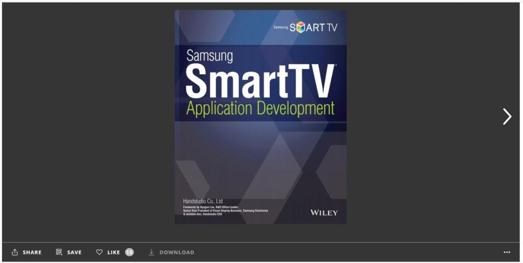 تلفزيون سامسونج الذكي تطوير التطبيقات Aaaaaa10