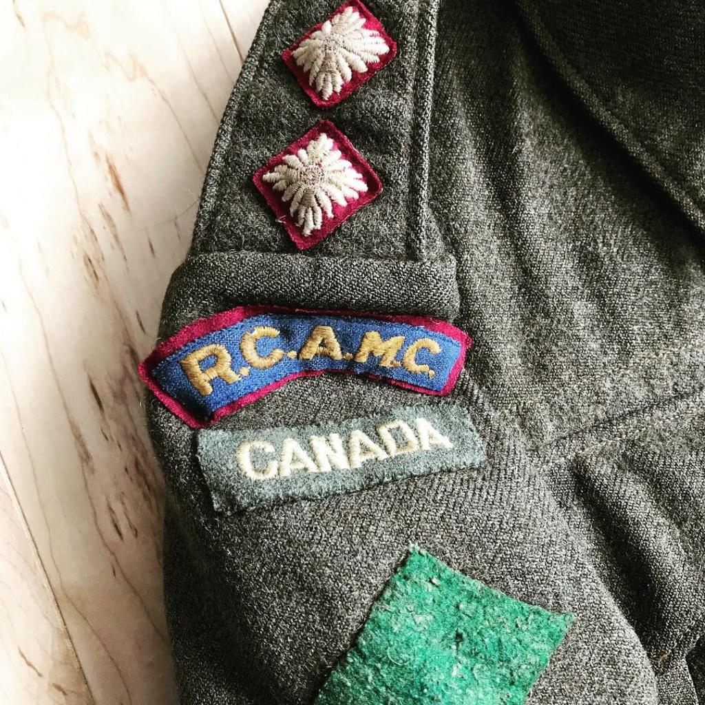WW2 Canadian RCAMC Battledress Tunics  Img_1611