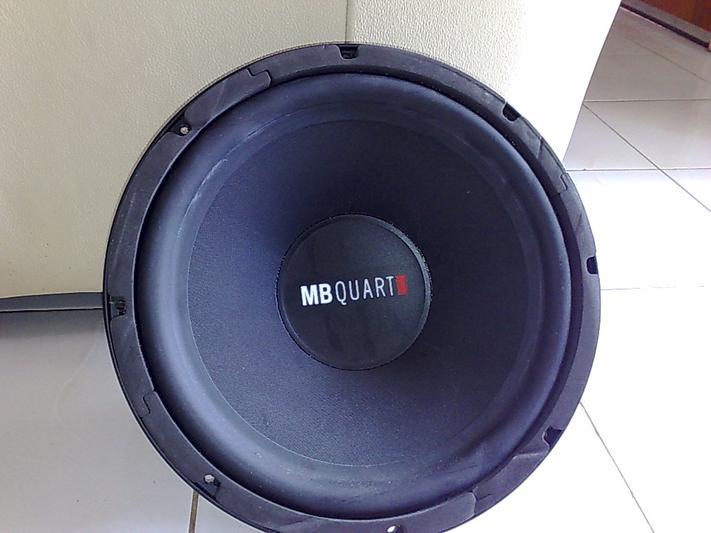 "<WTS> MB Quart 12"" 350W DVC 4 Ohm Subwoofer 31082010"