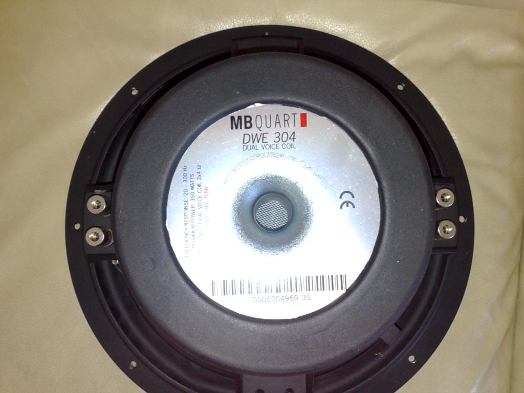 "<WTS> MB Quart 12"" 350W DVC 4 Ohm Subwoofer 31082011"