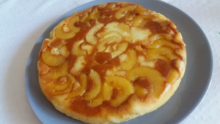 Gâteau de semoule aux pommes 20190518
