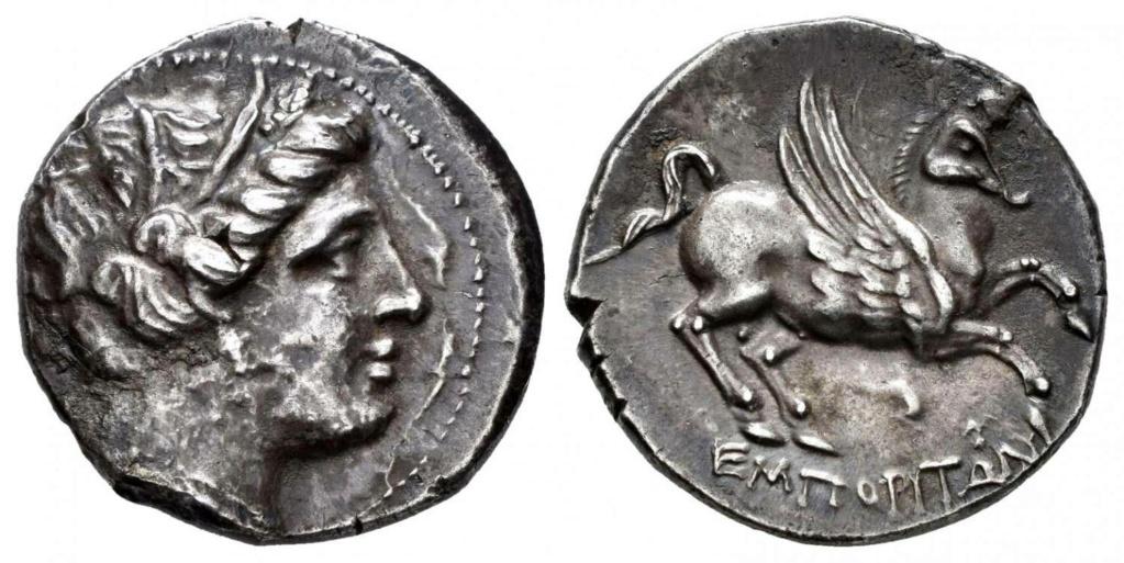 Dracma de Emporiton (220-150 a.C.) Ampurias (Girona) - Página 2 Empori10