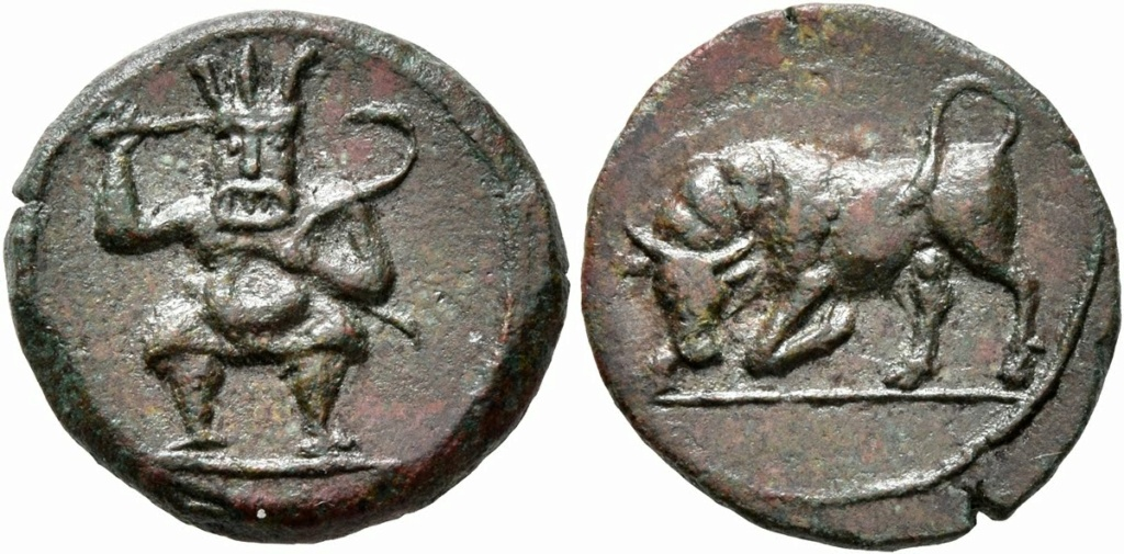 Dracma de Emporiton (220-150 a.C.) Ampurias (Girona) - Página 2 Leu_nu10