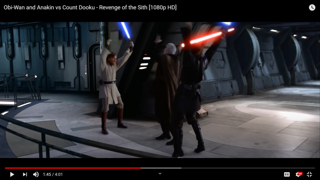 16 BBY Obi-Wan Kenobi vs Darth Tyranus Scree125