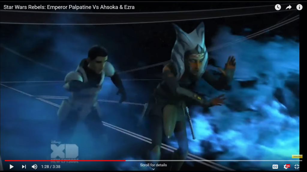 Where Ahsoka Tano stands Screen38
