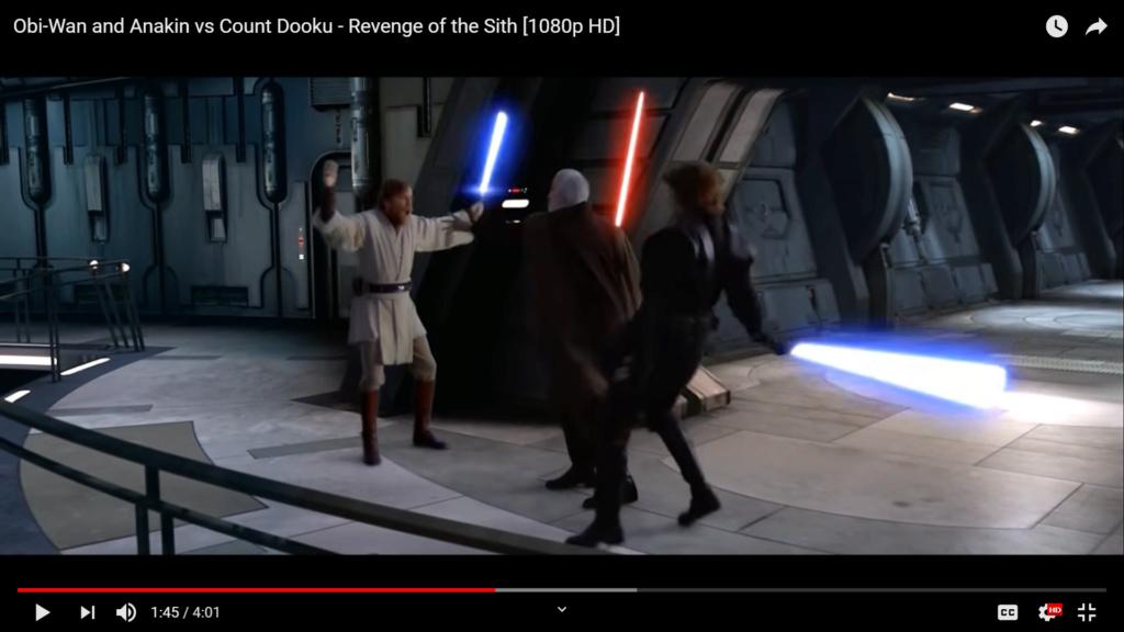 Dooku vs Vader and Luke Screen82