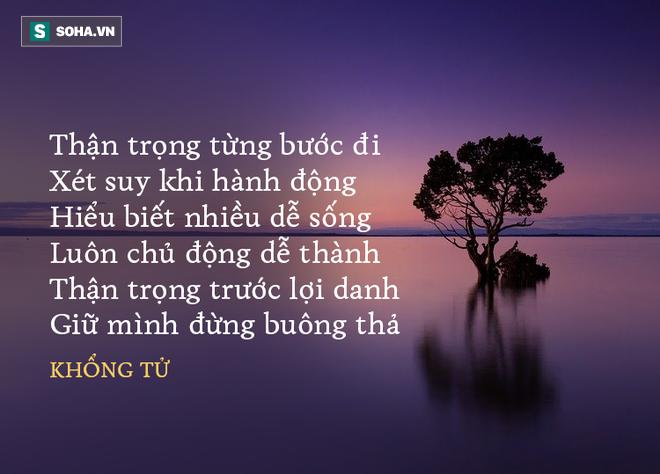 Học trò giận Khổng Tử bỏ về nhà, ông dặn 1 câu, cứu được dệ tử và 2 người nữa khỏi cái chết 71119410