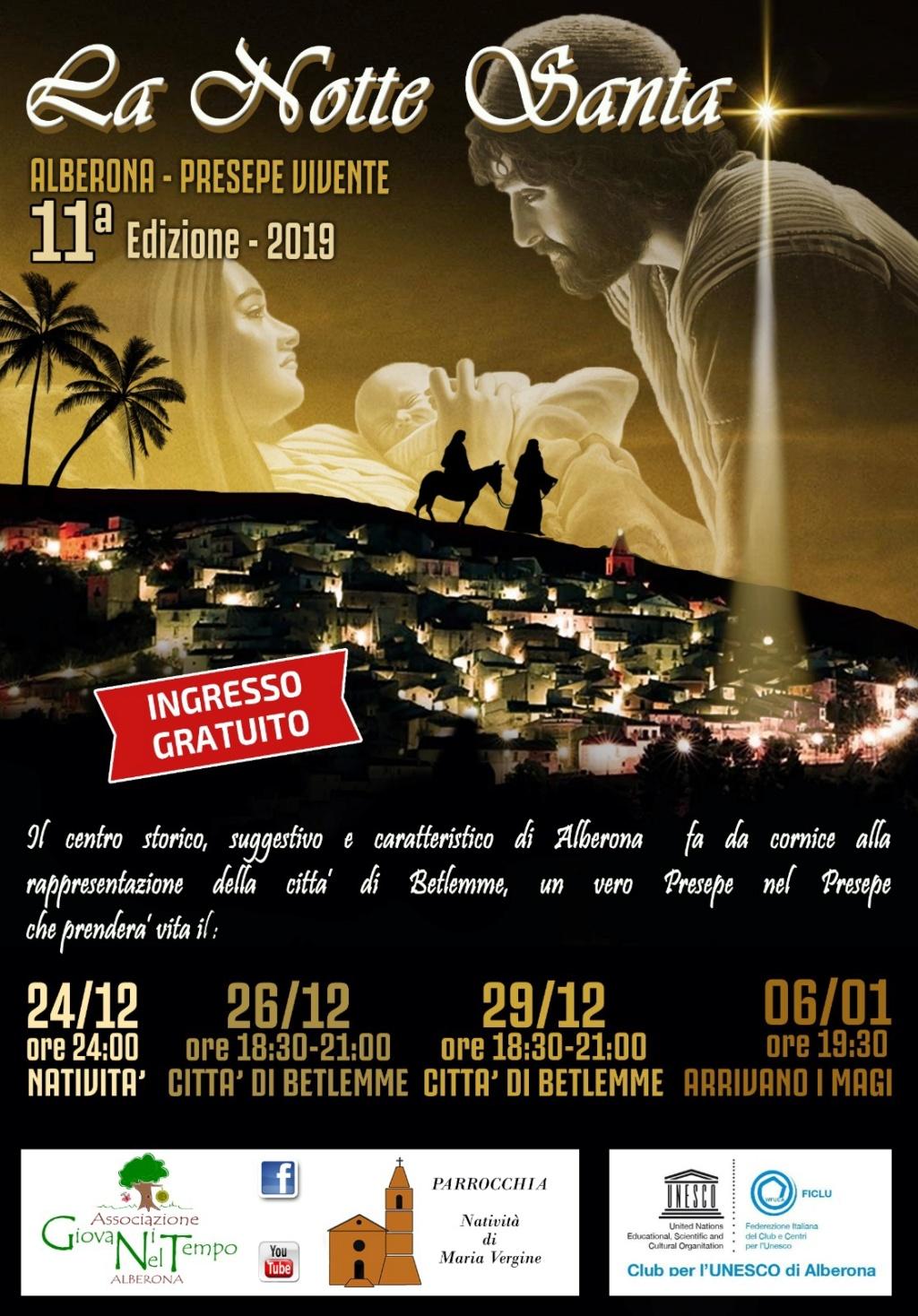 LA NOTTE SANTA 11° Edizione - Il Presepe Vivente di Alberona Save_210