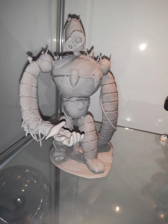 Début - Super sculpey 20191217