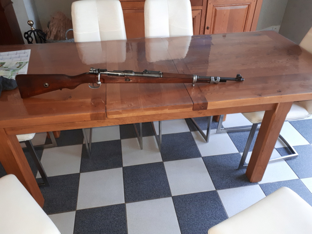Casse sur Mauser 98 20200214