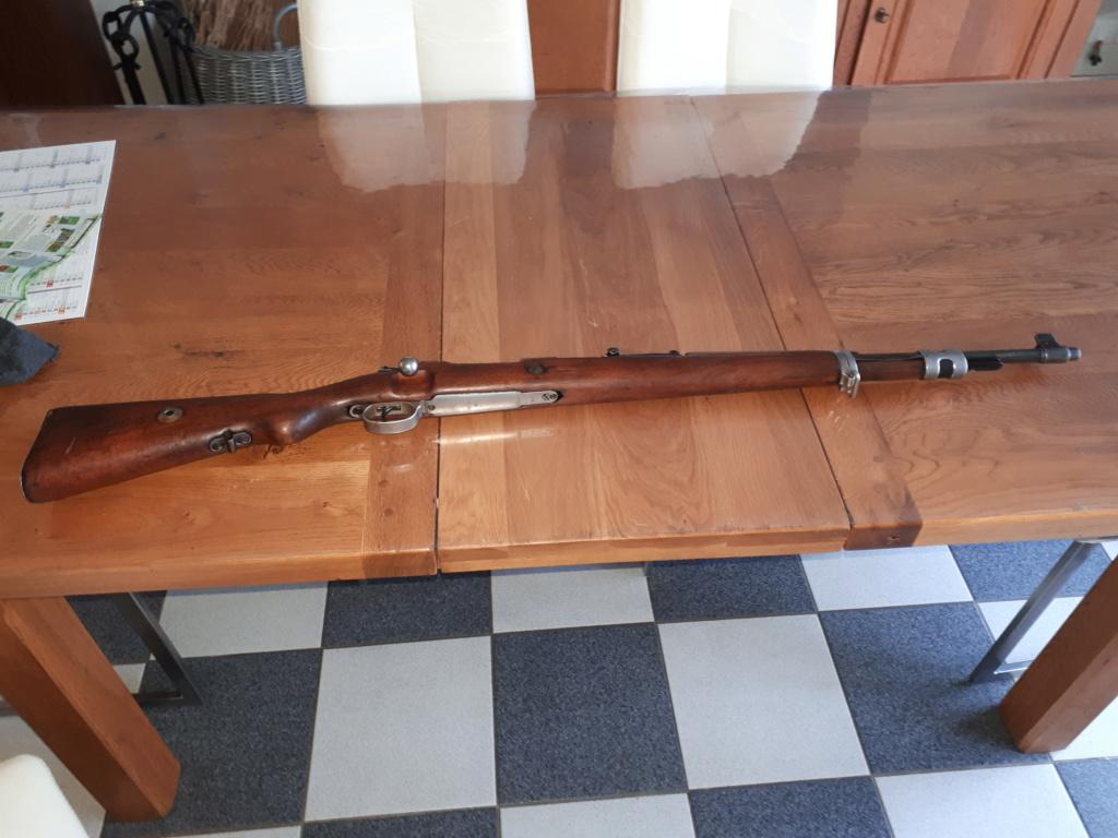Casse sur Mauser 98 20200215