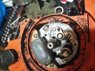 Problema scintilla Echo CS-60S Img_2115