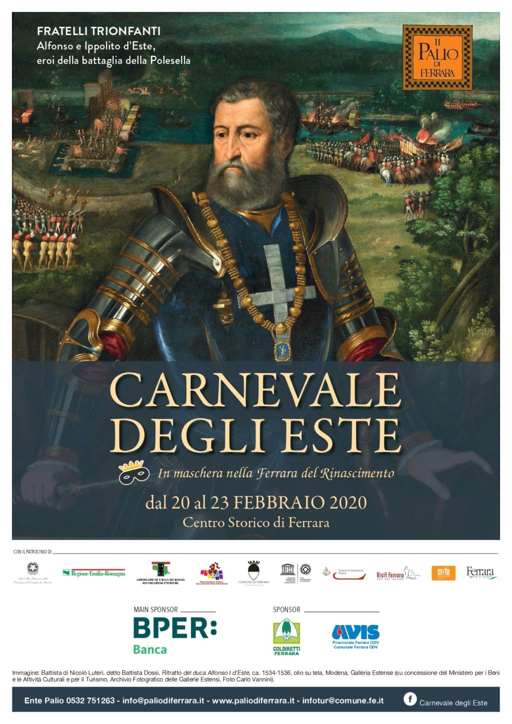 Carnevale degli Este 2020 Centro Storico Ferrara Volant11