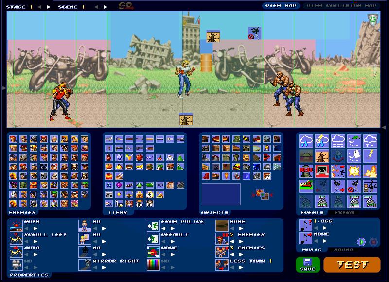 (WIP) Konamis violent storm arcade  Bandic17