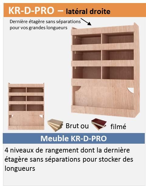 vend kit étagère bois pro pour T5/T6 Kr-d-p10