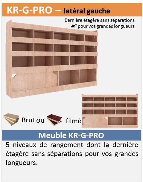vend kit étagère bois pro pour T5/T6 Kr-g-p10