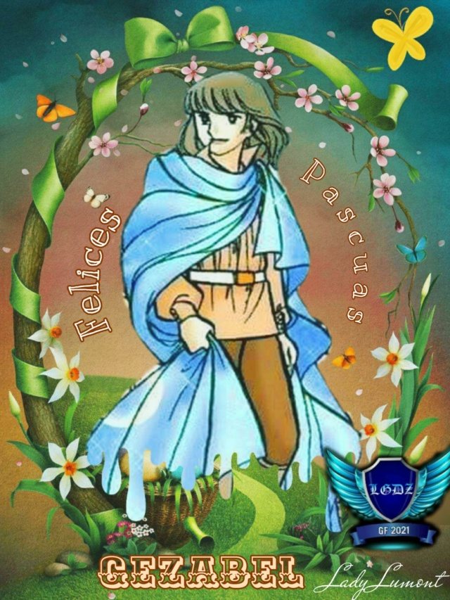 ⚔⚔⚔⚔LEGENDARIAS GUERRERAS DEL ZAFIRO: Regalo de Pascuas. 16174111