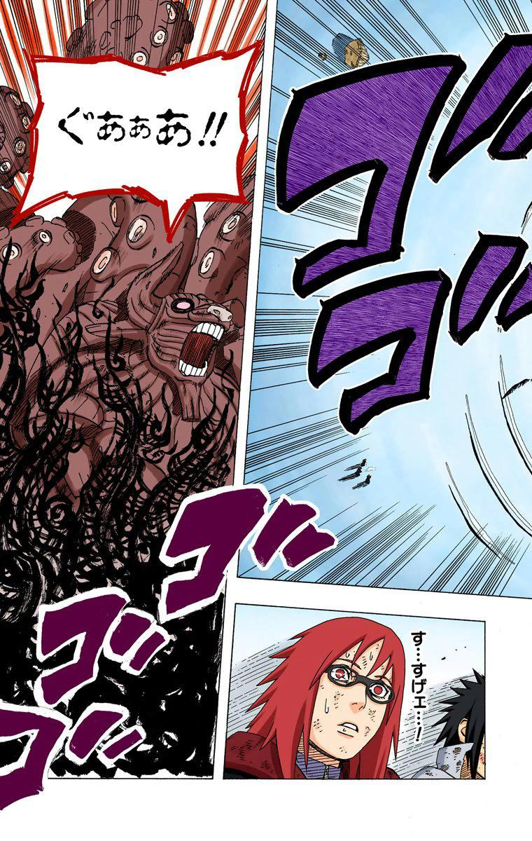 Itachi (Edo) e Sasuke (FMS) VS Killer Bee e Naruto (KM1) 04416