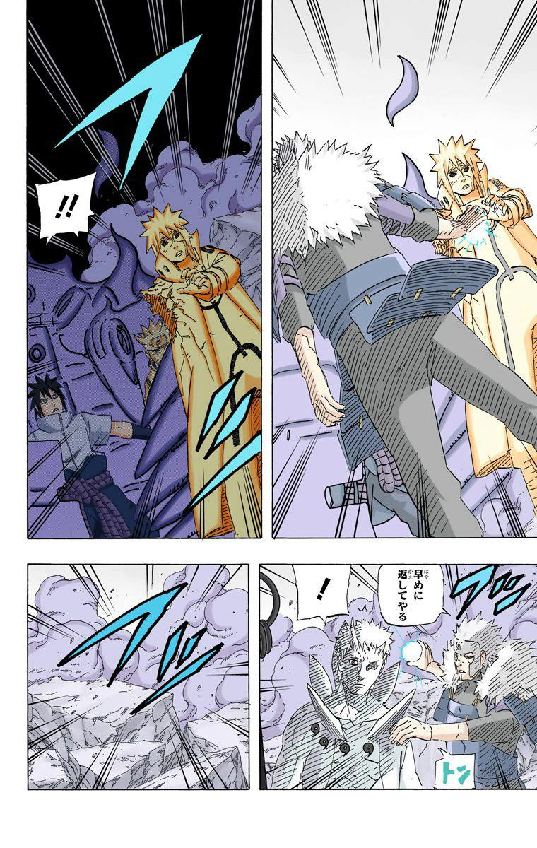 Invertendo os papéis! Tobirama vs Kyuubi e Obito 06111