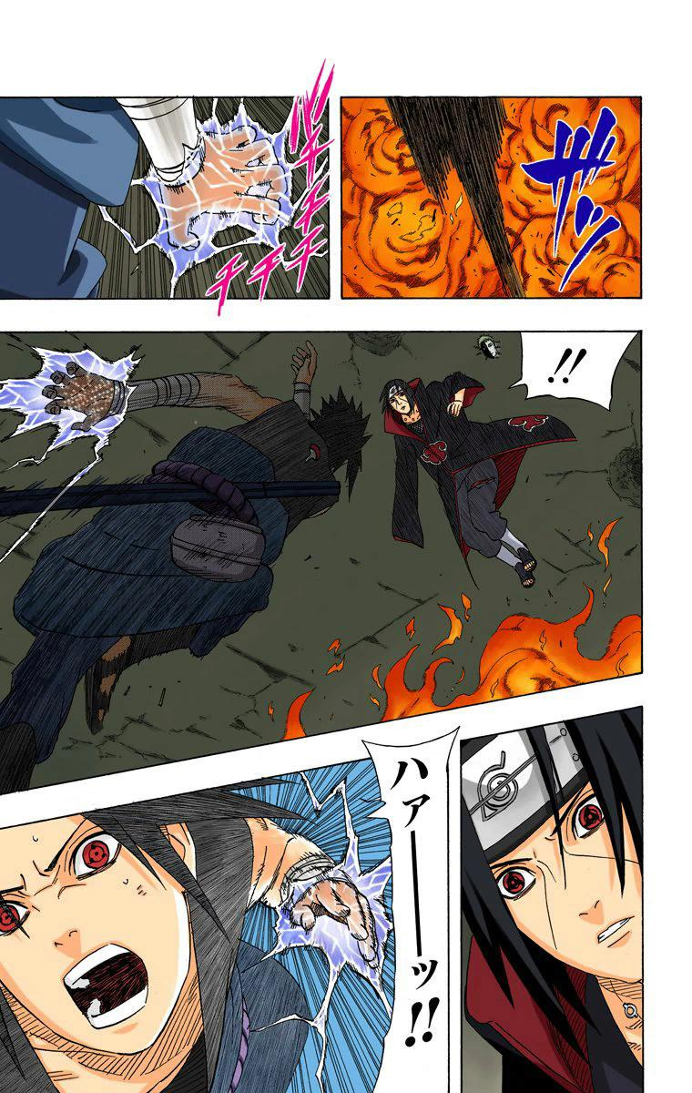 Itachi (Edo) e Sasuke (FMS) VS Killer Bee e Naruto (KM1) 18014