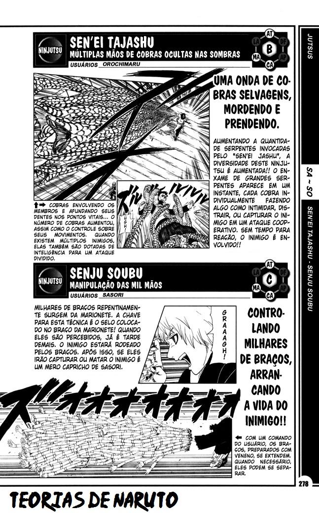 O Sasuke nunca assinou um Contrato de Invocação com Cobras? [Teoria] 278_se10