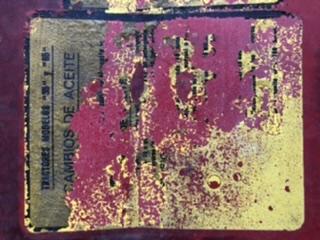[MF 65] Pegatinas del interior del capó  3cbf9210