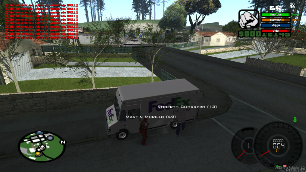 [Reporte ] Martin Murillo y Roberto Chorrero - DM a vehiculo sin rol Mta-sc12