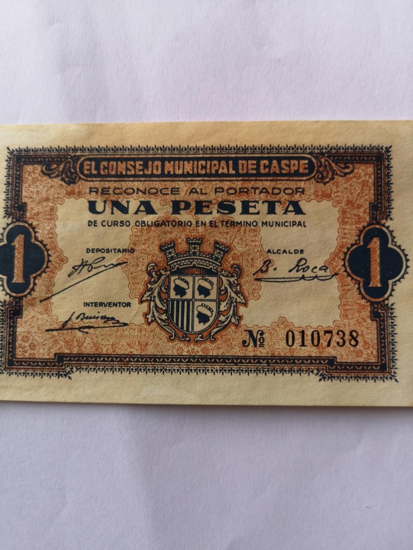1 Peseta Caspe, 1937 15911016