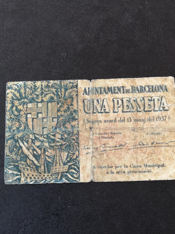 1 pesseta de Barcelona  15912812