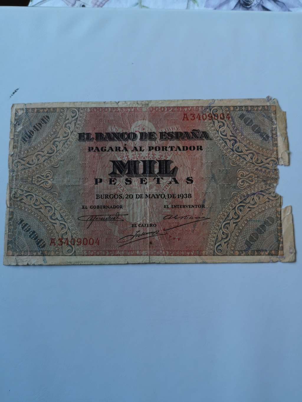 1000 pesetas Burgos 1938 15917212