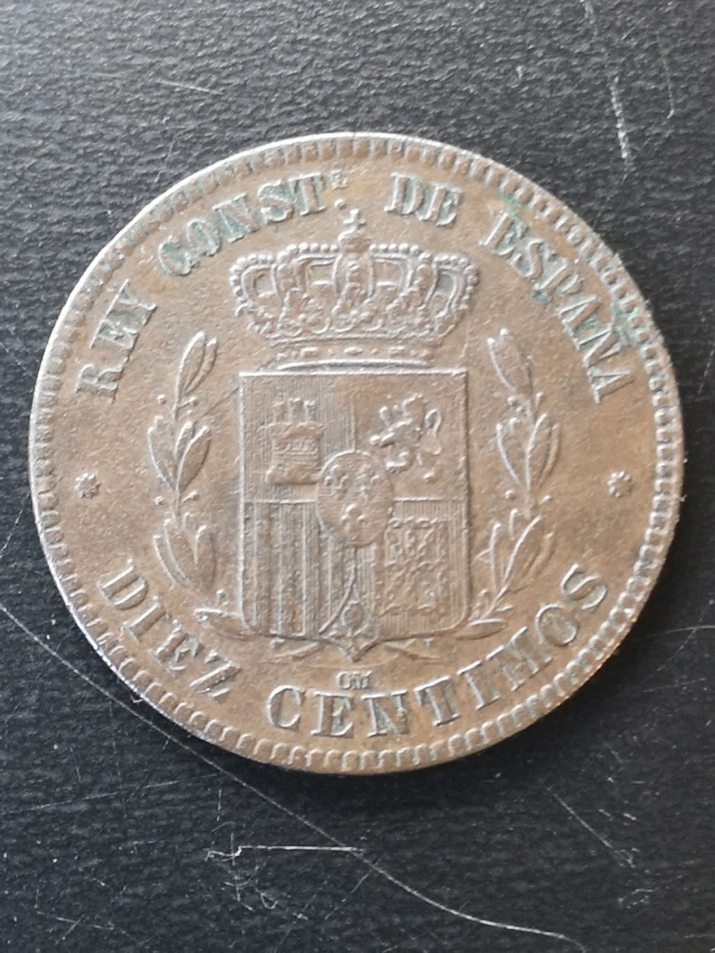 10 céntimos 1879. Alfonso XII 15917711