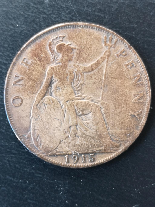 1 penique de 1915 15917713