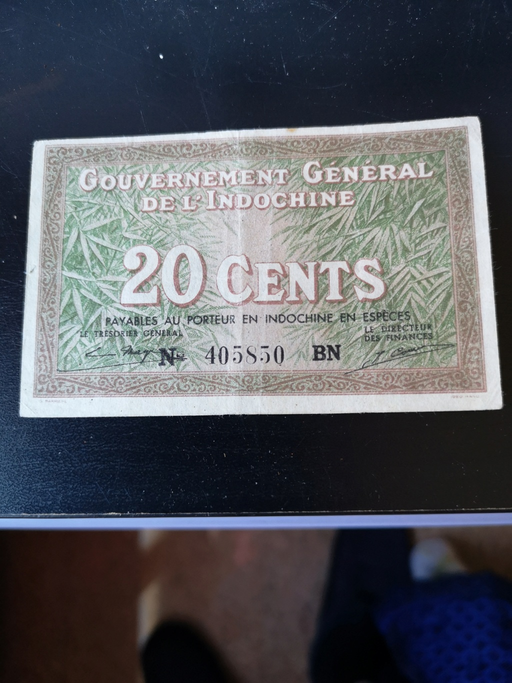 20 cents indochina francesa 1939 15920610