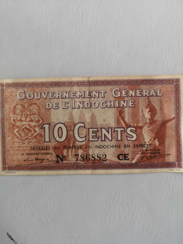 10 ctms Indochina francesa 1934 15925516
