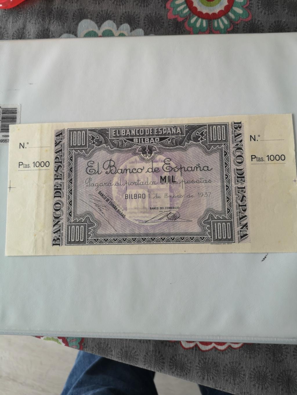 1000 pesetas Banco de España en Bilbao 1937 15925518