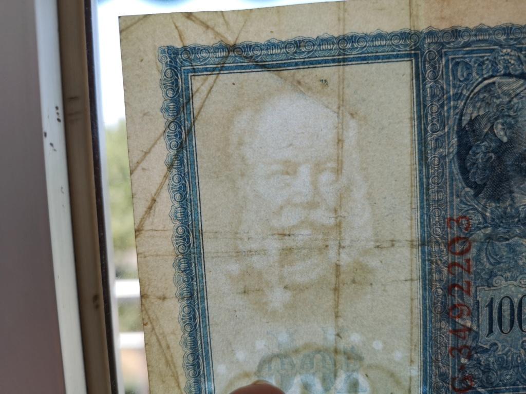 """100 Marcos 1909 """"Flottenhunderter"""" 15929910"""