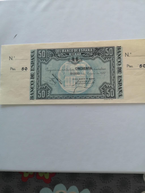 50 pesetas banco de España en Bilbao  15931910