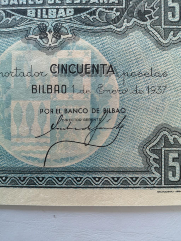 50 pesetas banco de España en Bilbao  15931911