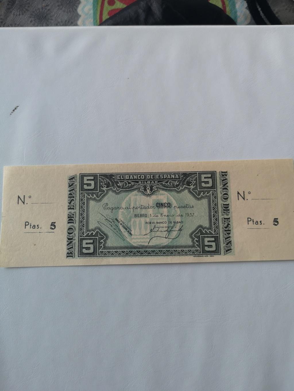 5 pesetas banco de España en Bilbao  15932810