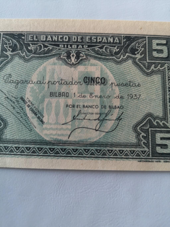 5 pesetas banco de España en Bilbao  15932811