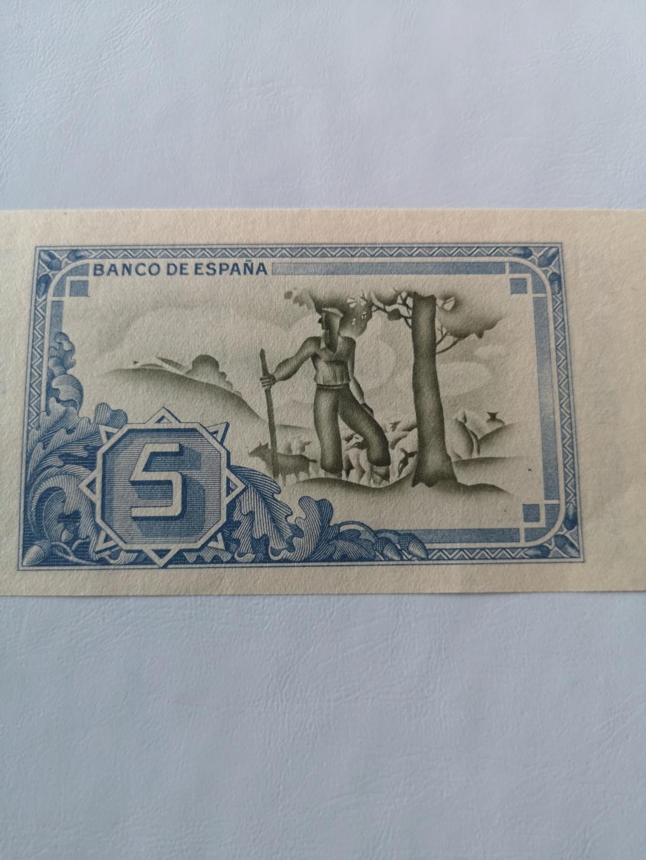 5 pesetas banco de España en Bilbao  15932812