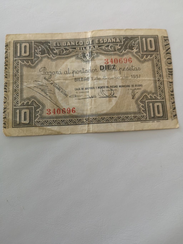 10 pesetas banco de España en Bilbao  15934510
