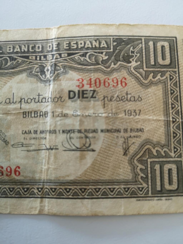 10 pesetas banco de España en Bilbao  15934512