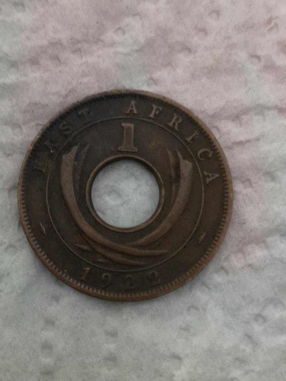 1 céntimo east Africa 1922 15950811