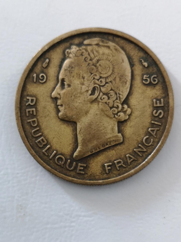 ¡¡Los 50!! 25 francos África occidental francésa  15972210