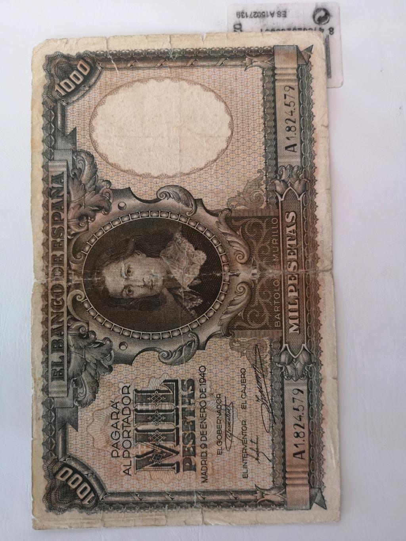 1000 pesetas 1940 15972413