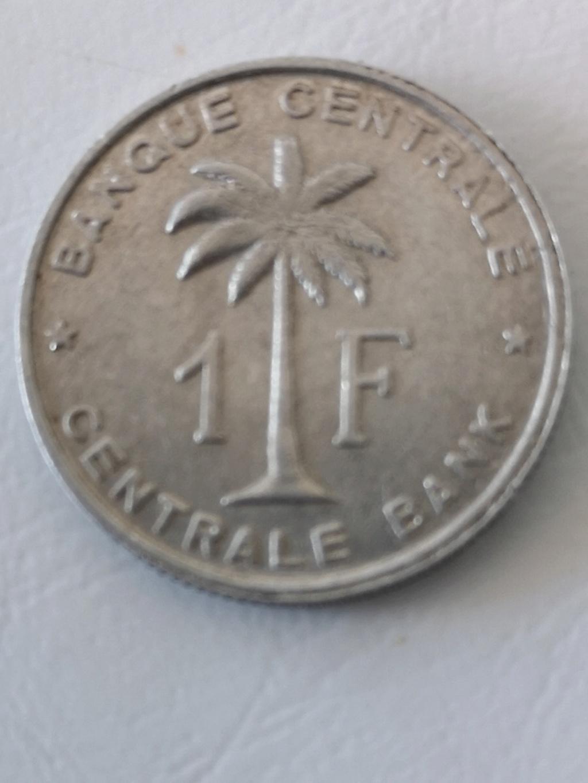 ¡¡Los 50!! 1 franco del Congo Belga de 1958 15974110