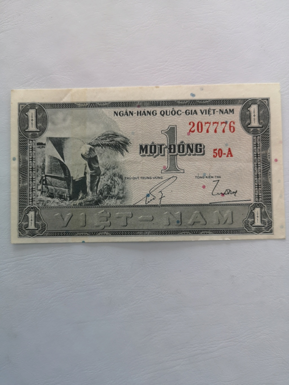 1 dong vietnam del Sur 1955 15974210