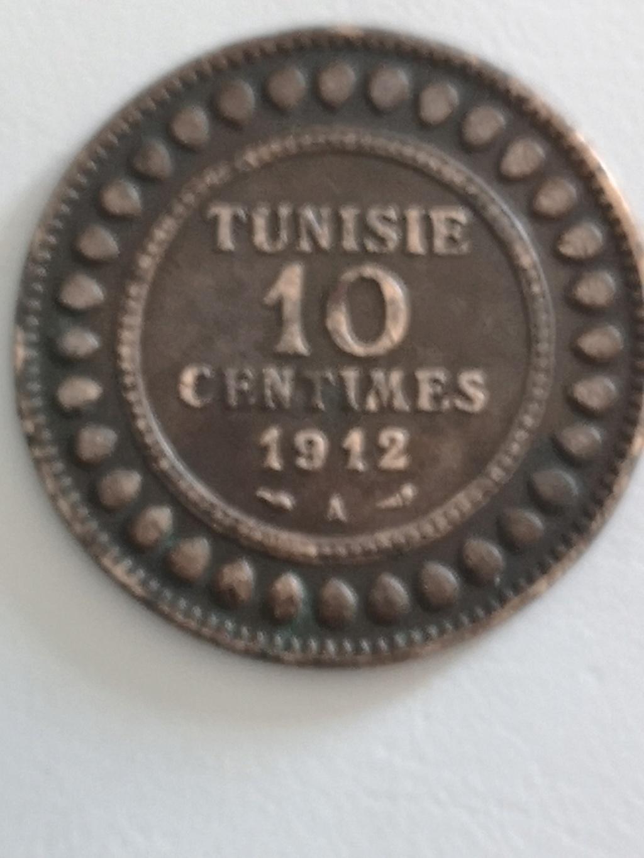 10 céntimos Túnez 1912 15975010